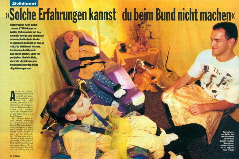Belegexemplar aus dem Jahr 1995