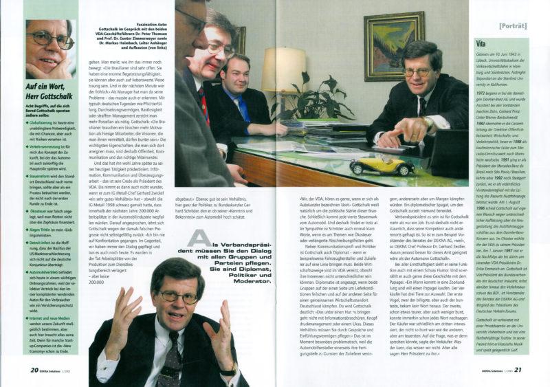Belegexemplar aus dem Jahr 2001