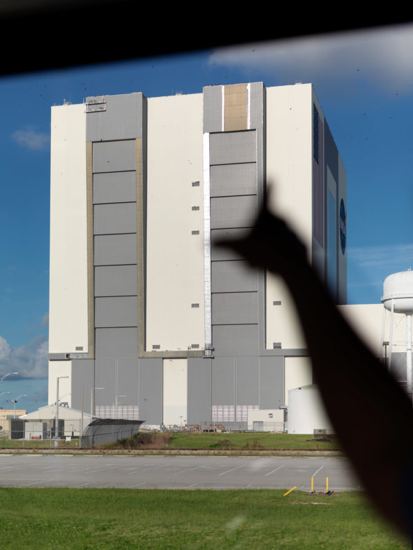 editorial photography: The Vehicle Assembly Building VAB was the tallest building in the world.