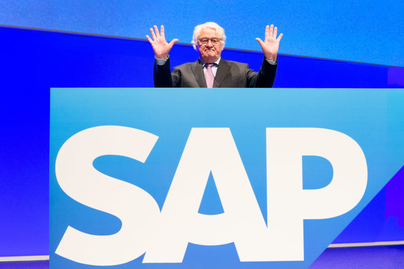 Executive portrai: Before SAP SE