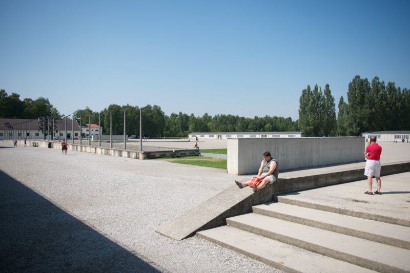 Personal photography: Dachau is a town near Munich and remains a place of horror.