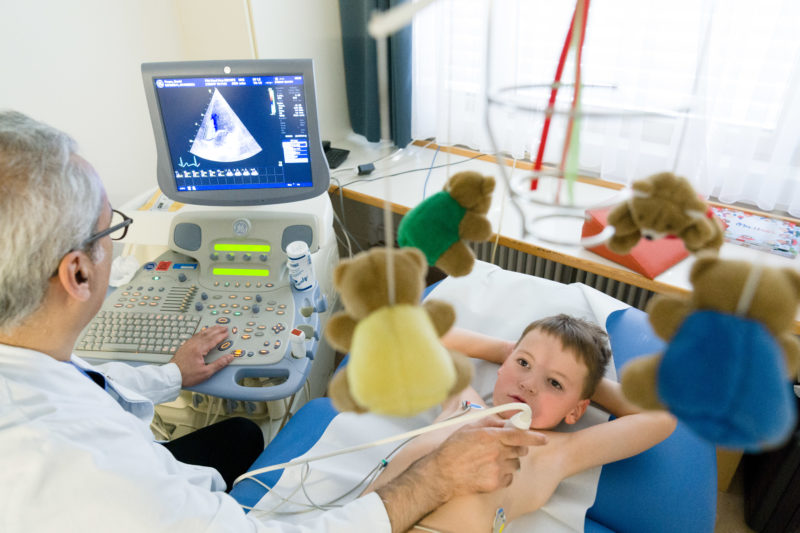 Healthcare photography:  In the children
